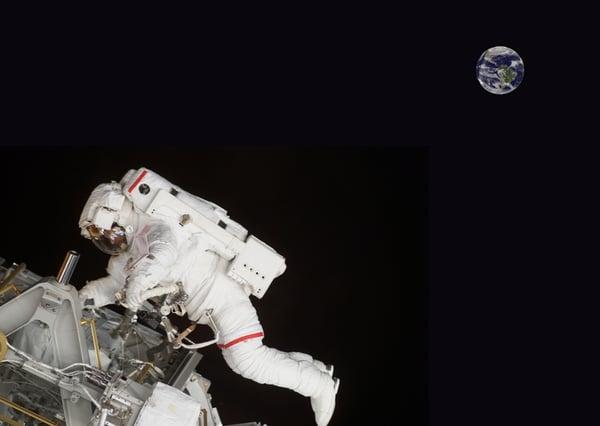 FRP Composite Spacesuit