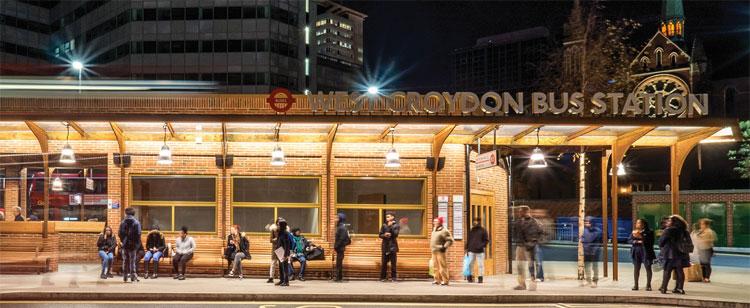 kalwall-west-croydon-bus-station